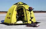 Рейтинг лучших палаток для зимней рыбалки (ТОП-7) 2020