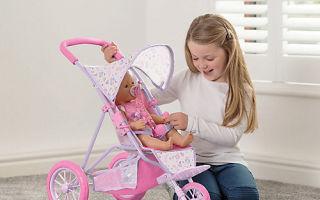 Рейтинг лучших колясок для кукол (ТОП-7) 2021