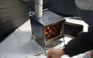 Рейтинг лучших печей в палатку для зимней рыбалки (ТОП-7) 2021