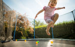 Рейтинг лучших детских батутов для дачи (ТОП-7) 2021